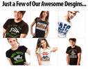 Thumbnail 50 Shirts Designs for Teespring, Cafepress, Zazzle, Spreadsh
