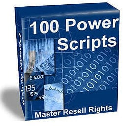 Product picture 100 power script