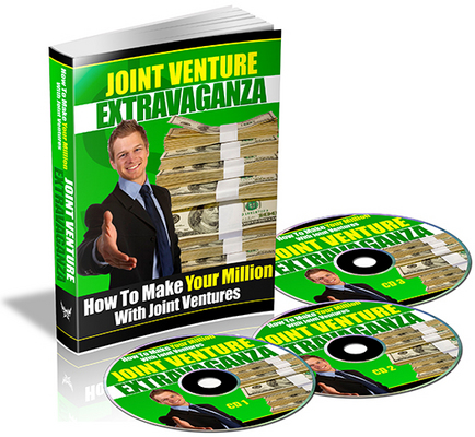 Product picture Joint Venture Extravaganza -  How To Make Your Million