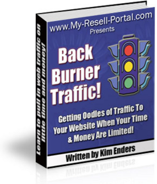 Product picture Back Burner Traffic