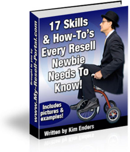 Product picture The 17 Skills & How-To s You Need