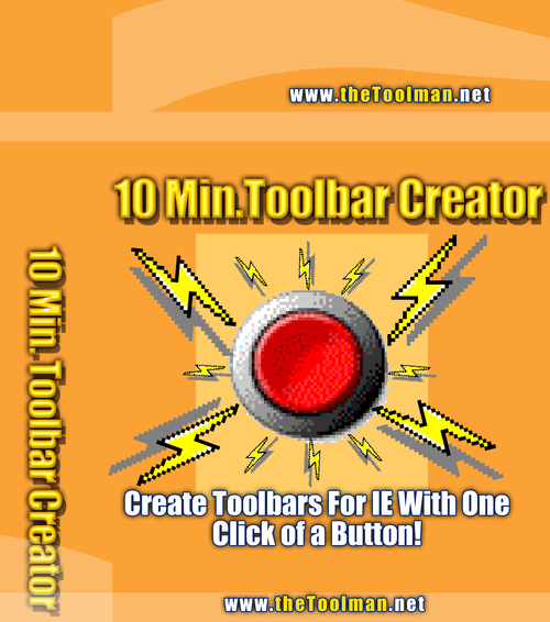 Product picture 10 Minute Tool-Bar Creator