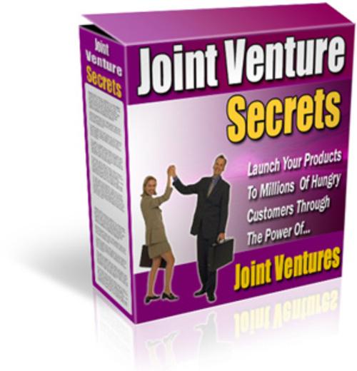 Product picture Joint Venture Secrets