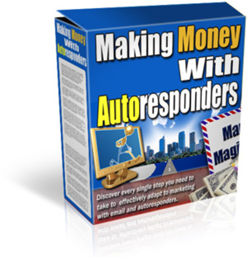 Product picture Making Money With Auto Responders