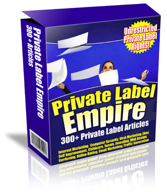 Product picture Private Label Empire
